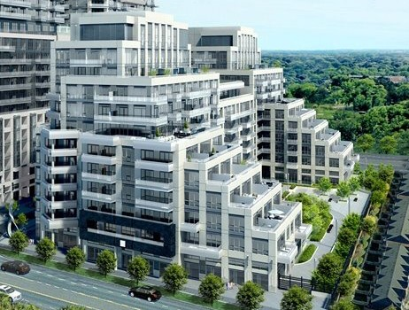 The Beverly Hills Condos at Yonge and 16th in Richmond Hill