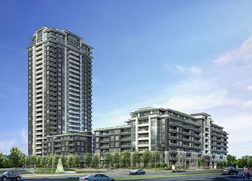 Riverside condos in Markham