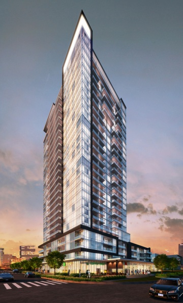 The Academy condos by uft