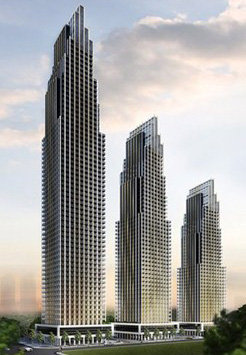 Edge Towers by Solmar