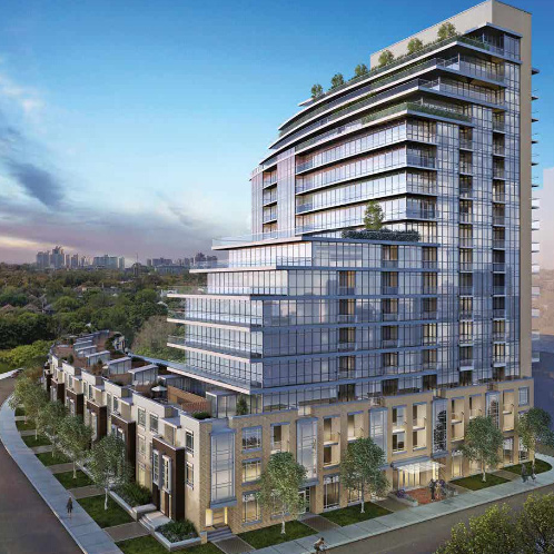 Berwick Condos at Yonge and Eglington