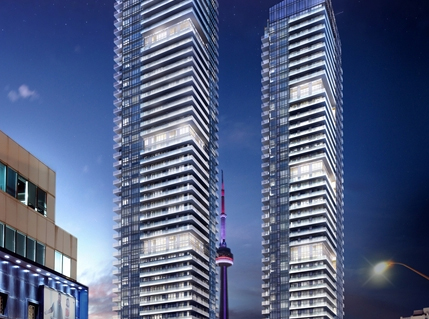 King Blue condos in Toronto