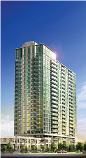 The Mirage condos in Mississauga by Conservatory Group