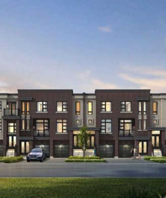 NuTowns townhomes in Pickering