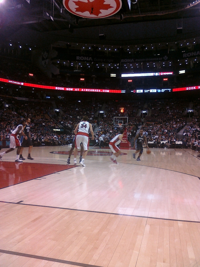 Raptors magic game