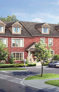 School House townhomes for sale in Barrie