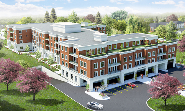 The Sorrento Condos in Richmond Hill