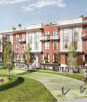 UpTowns Townhomes in Brampton