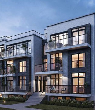 Winlock Townhomes in North York