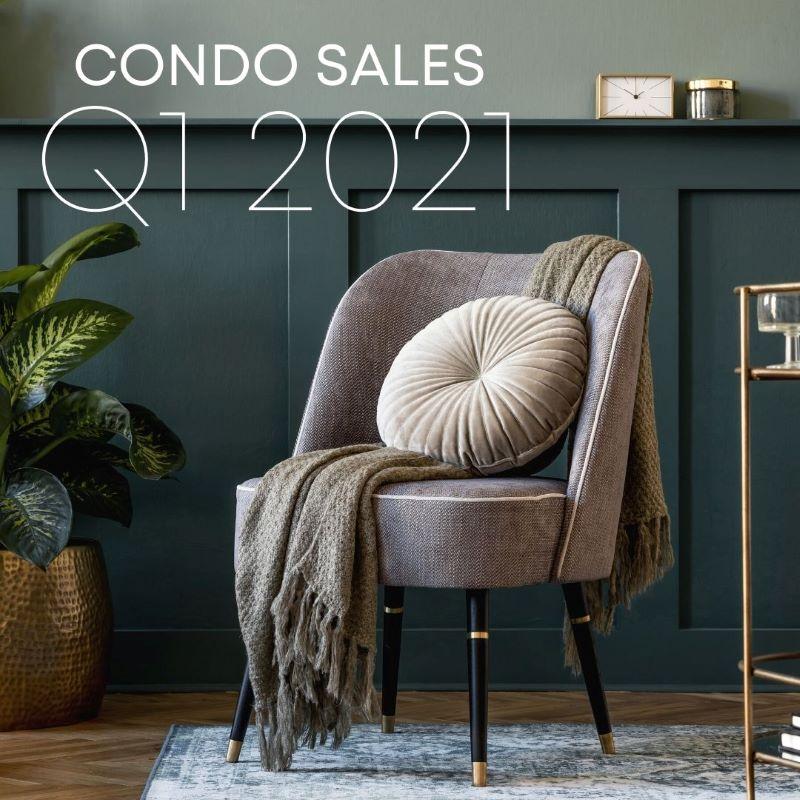 Q1 condo sales report